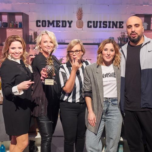 """Comedy Cuisine""  • 2018"